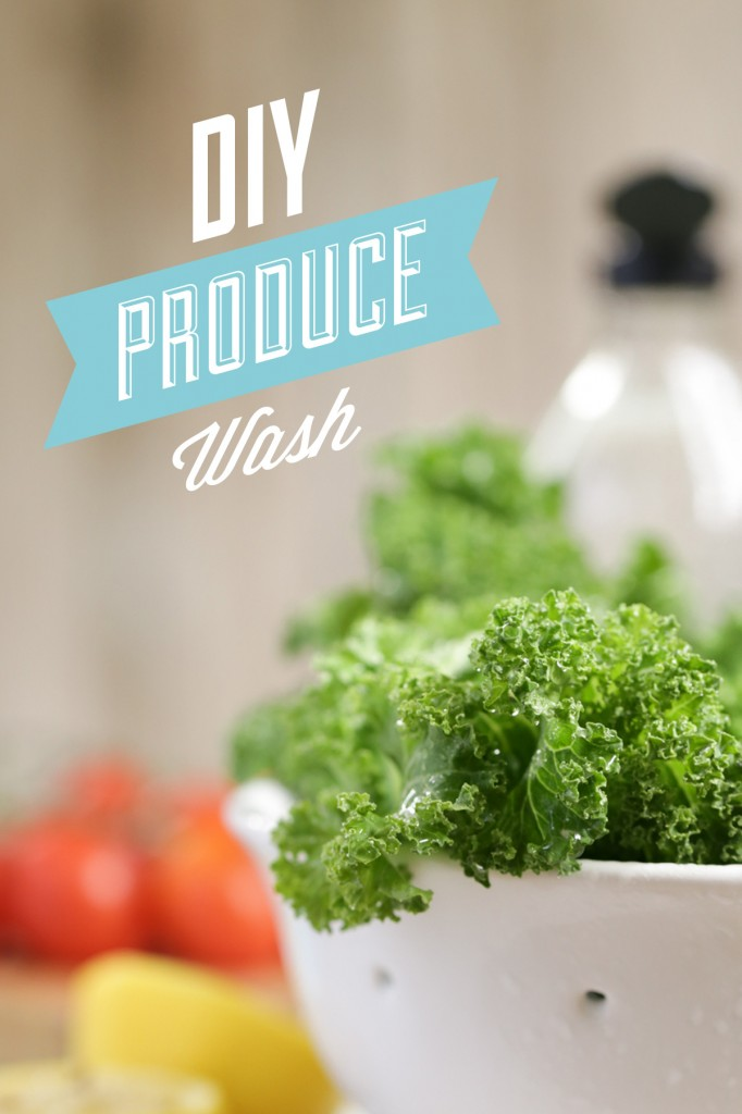 How to make an organic fruit and vegetable wash