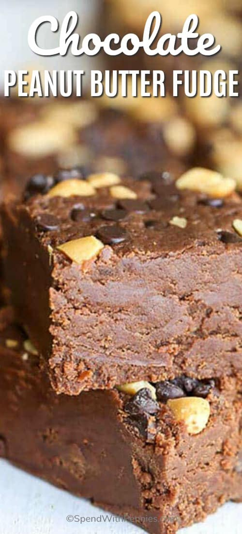 How to make chocolate peanut butter fudge