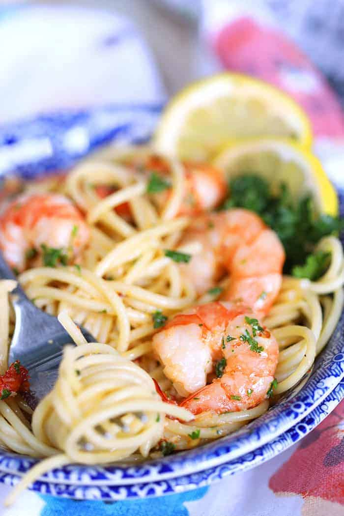 How to prepare shrimp scampi
