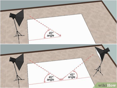 How to photograph clothing laying flat