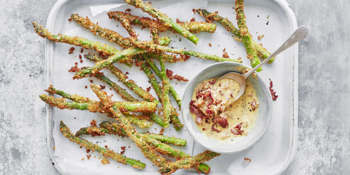 How to season asparagus