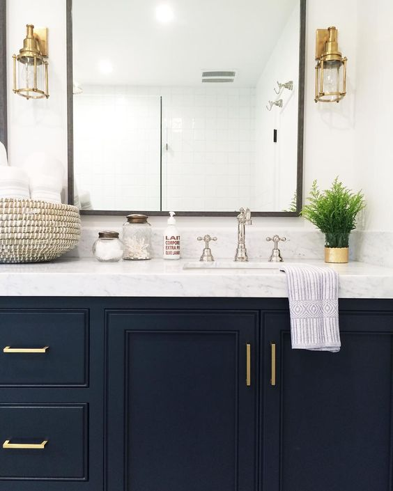 How to hang a vanity mirror