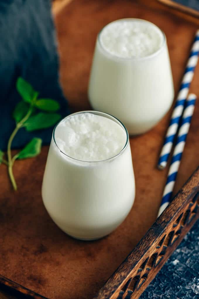How to make ayran (turkish yogurt drink)