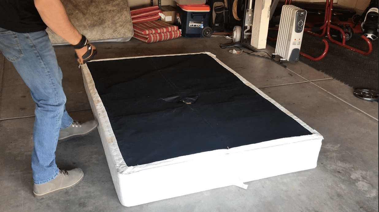 How to dispose of a box spring