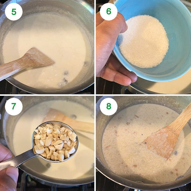 How to make kheer