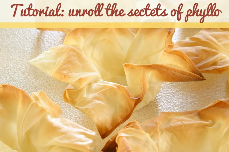 How to work with phyllo dough