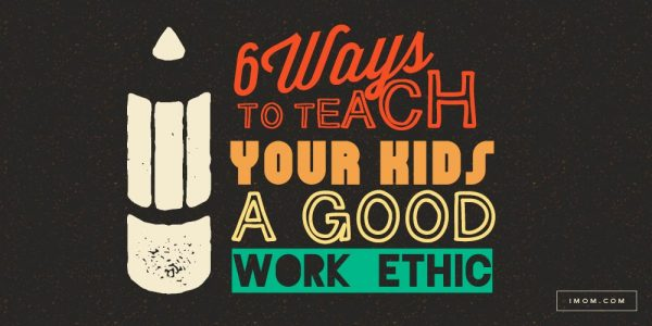 How to teach your kids to have a work ethic