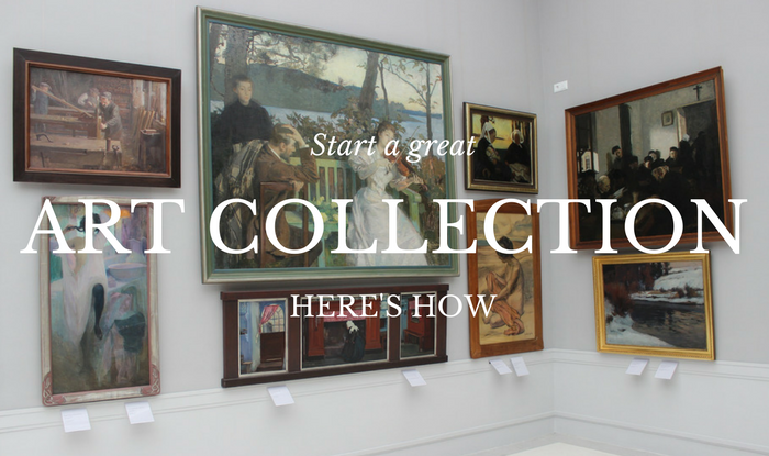 How to start an art collection