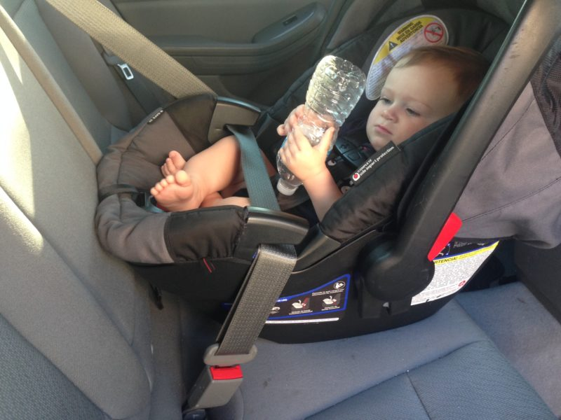 How To Install A Car Seat, Baseless Infant Car Seat