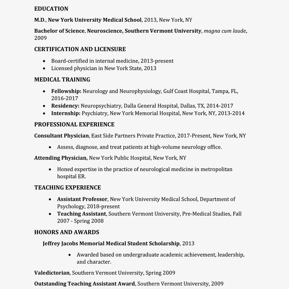 Resume for med school citing a website with no author in a research paper