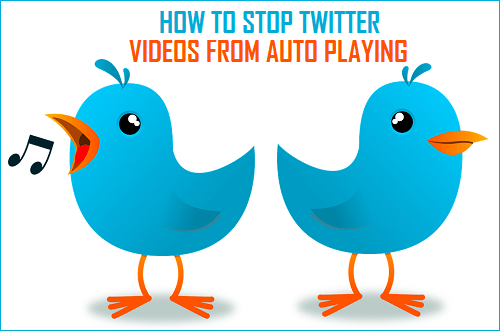 How to stop twitter videos from autoplaying