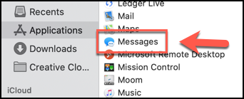 How to turn off imessages on mac