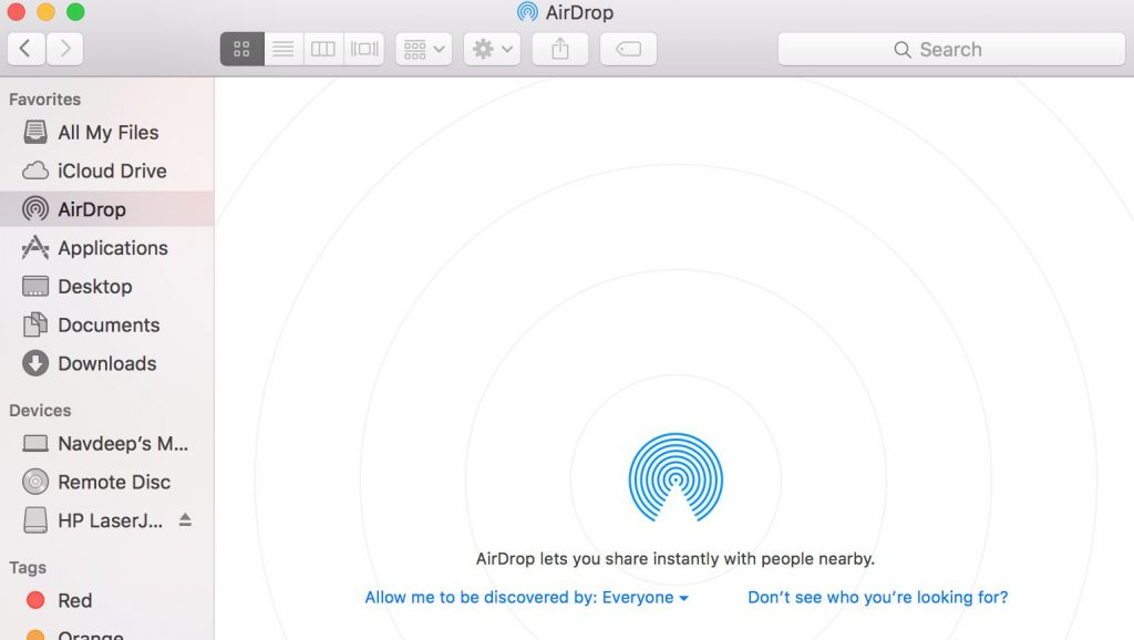 Airdrop not working here's how to fix it