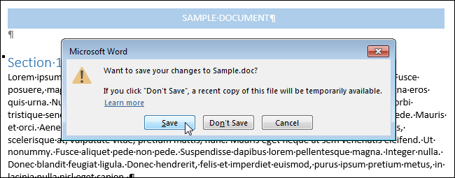 How to convert older documents to word 2013