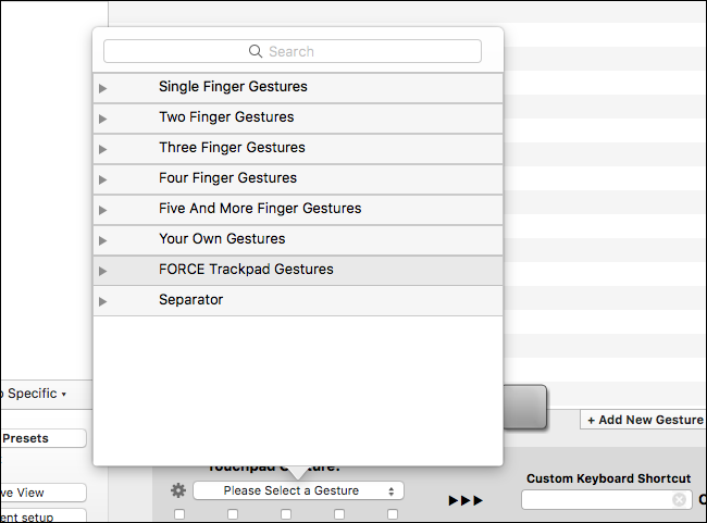 How to customize mac trackpad gestures with bettertouchtool