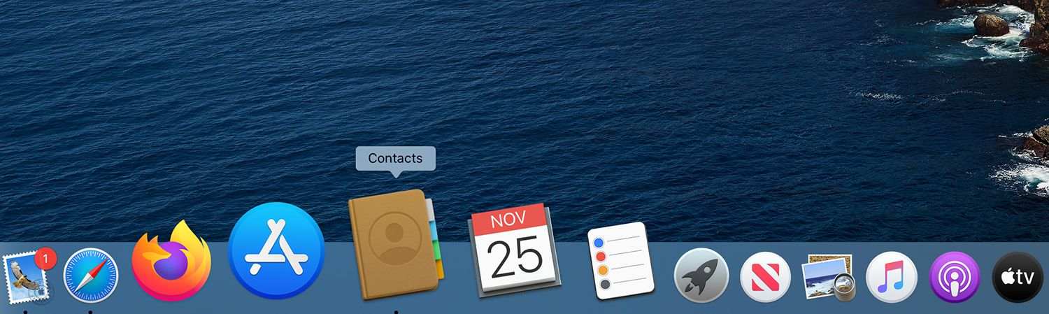 How to create contact groups on your mac