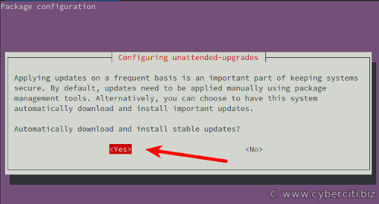How to enable automatic system updates in ubuntu